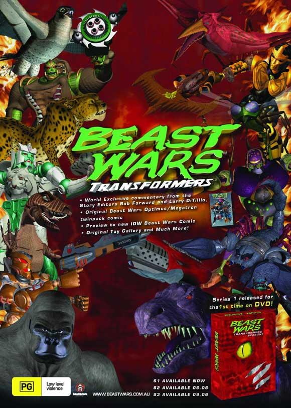 Watch Movie Beast Wars: Transformers - Season 1