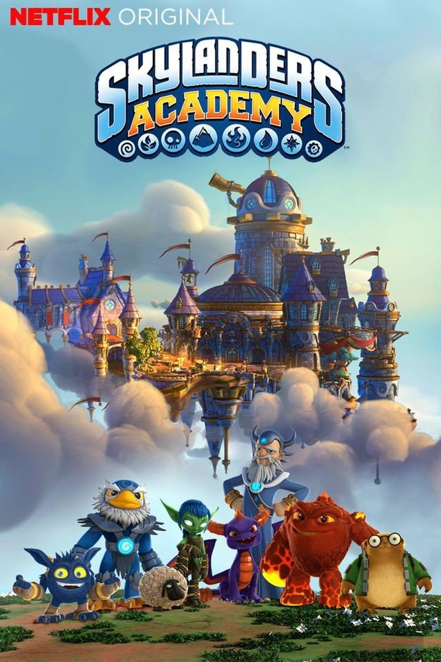Watch Movie Skylanders Academy - Season 02