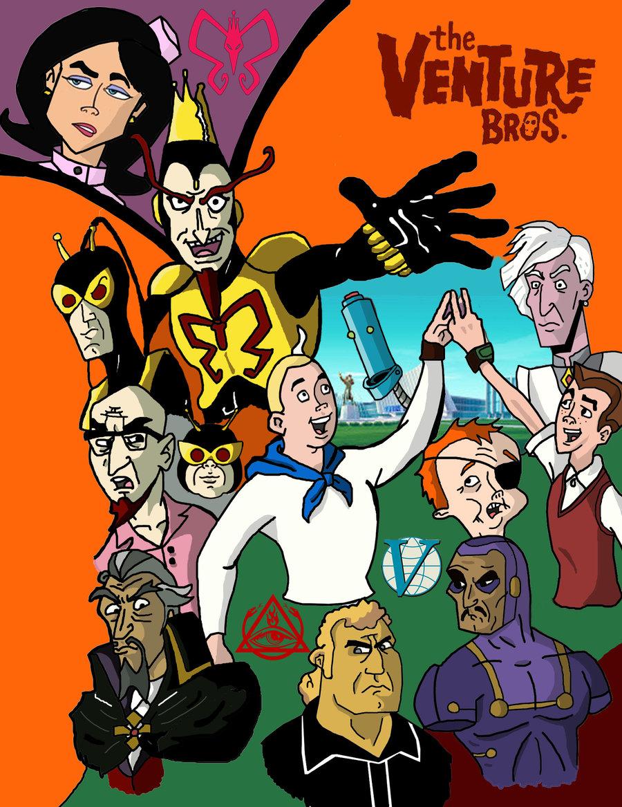 Watch Movie The Venture Bros - Season 3